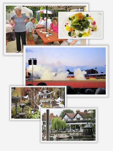 Travel Treats guests enjoying various events