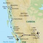 Rockies Rail - Map
