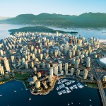Vancouver -aerial view