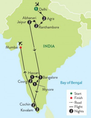 Grand Tour Map
