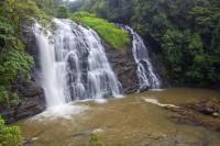 Omkarrshwara Temple and Abbey Falls