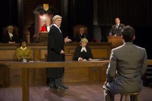 Witness for the prosecution -scene