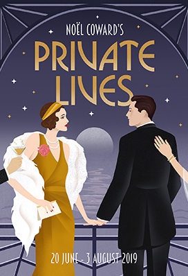 Noel Coward's 'Private Lives' at The Mill at Sonning